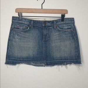 Joe's Jeans medium wash denim skirt - 28